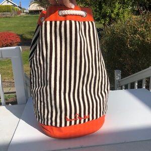 Henri Bendel bag backpack tote waterproof lined